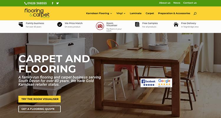 south devon web design