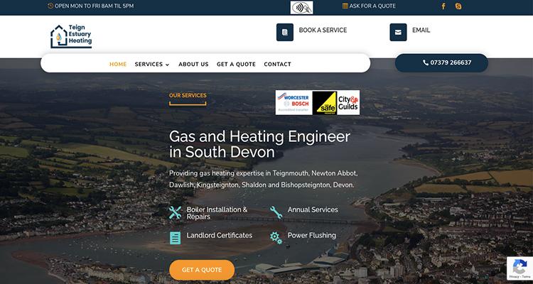 website design exeter
